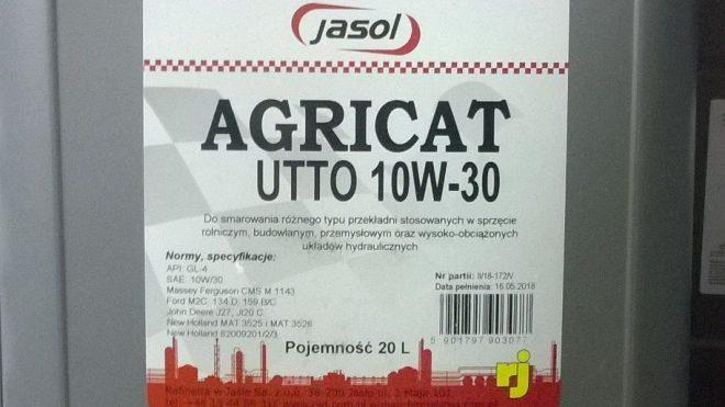 Olej Agricat UTTO 10W/30