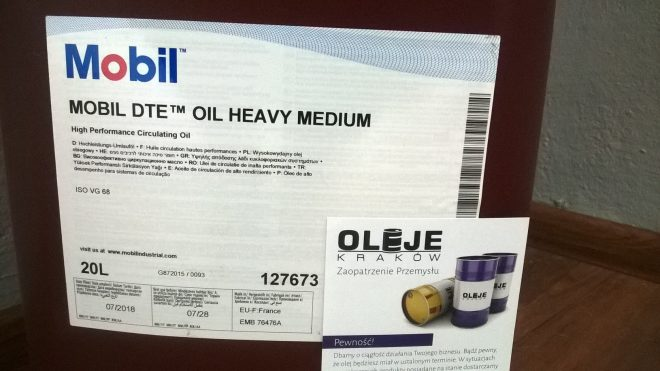Olej obiegowy Mobil DTE Heavy Medium