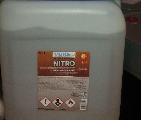 Dostawa rozpuszczalnika NITRO