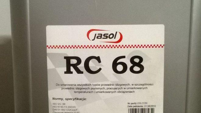 Olej do prowadnic Jasol RC 68