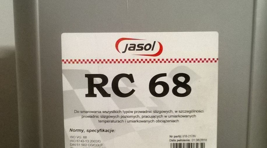 Olej do prowadnic Jasol RC 68