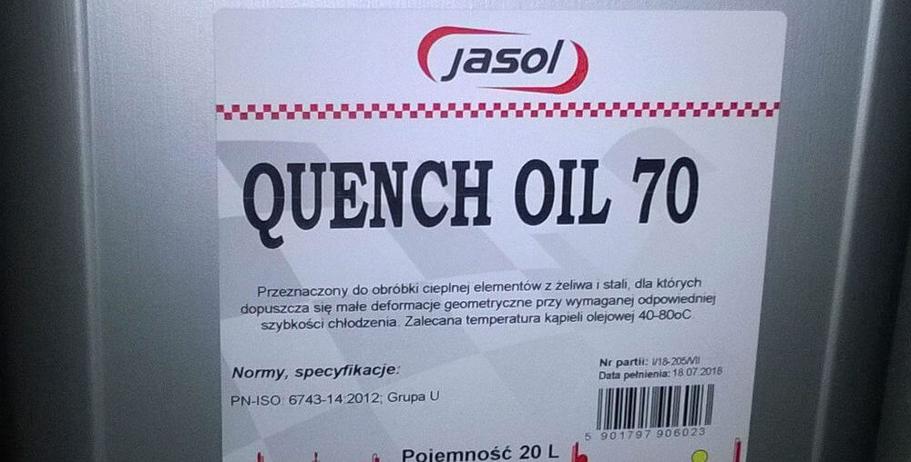 Jasol QUENCH Oil 70