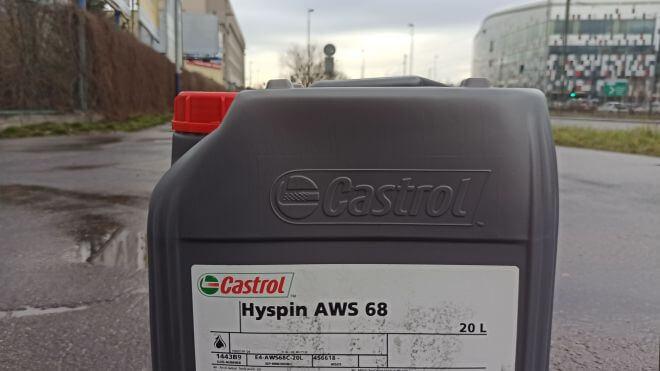 Dostawa oleju hydraulicznego Castrol Hyspin AWS 68