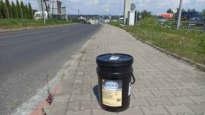 Shell Gadus S2 V220 2, Smar Kraków