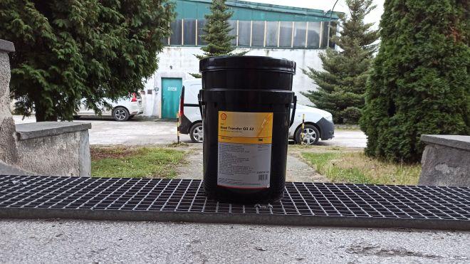 Shell Heat Transfer S2, Dostawa Kraków