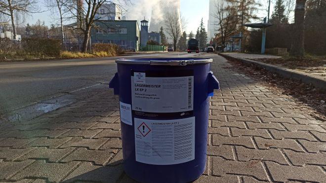 Fuchs Lagermeister LX EP2, smary Kraków