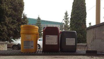 Oleje do prowadnic, różni producenci, Kraków