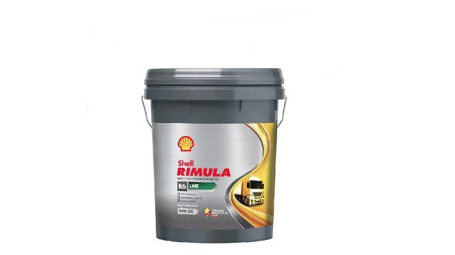 Rimula R6 LME 5W30, olej silnikowy Shell.