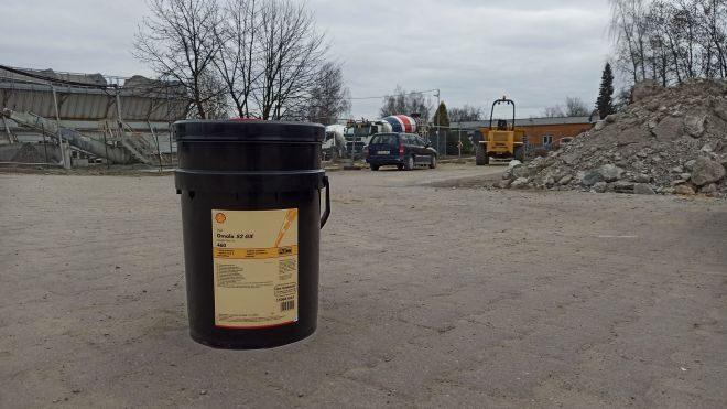 Shell Omala S2 GX460, olej przekładniowy z dostawą.